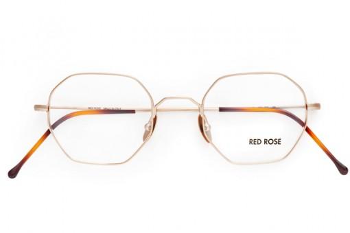 Red Rose, Geometrische Metall Brille