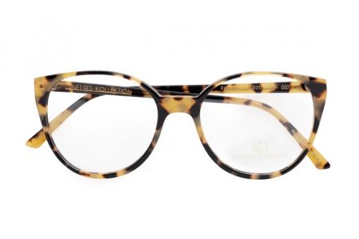 Pauline, Damenbrille, Butterfly, leopard