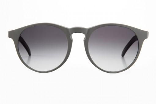 Fare bella Figura, Panto Sonnenbrille, grau matt