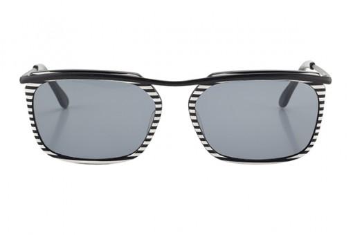 Snob Sonnenbrille schwarz-weiß