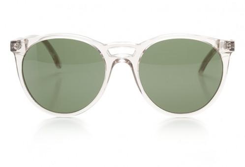 Je ne sais quoi, Panto Sonnenbrille, transparent