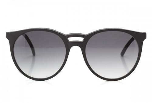 Je ne sais quoi, Panto Sonnenbrille, schwarz matt