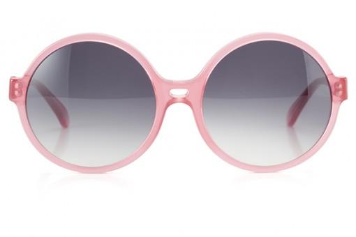 La Passante, Sonnenbrille 70ies, pink