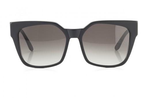 l'Avventura, eckige Sonnenbrille, schwarz