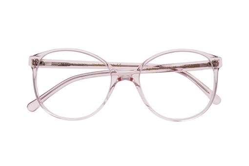 Fjarill/11, Brille Butterfly, transparent, rosa