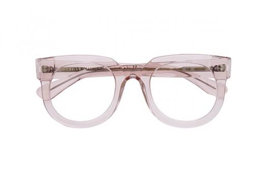 Kvadrangolo/38 transparent, Brille, rosa, rosé