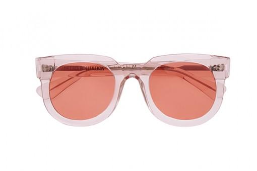 Kvadrangolo/38, Sonnenbrille, transparent, rosé