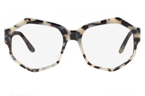 Nom de Plume, sechseckige Brille, stracciatella