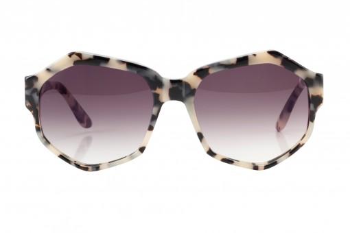 Nom de Plume, sechseckige Sonnenbrille, stracciatella