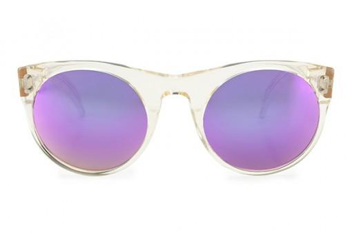 Tabula Rasa, Sonnenbrille, transparent, verspiegelt