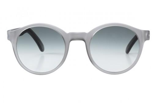 Voyage Voyage, Panto Sonnenbrille matt grau