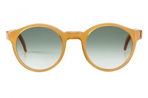 Voyage Voyage, Panto Sonnenbrille honigfarben