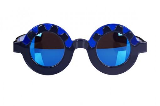 LK x Michael van der Ham, Sonnenbrille, Navy