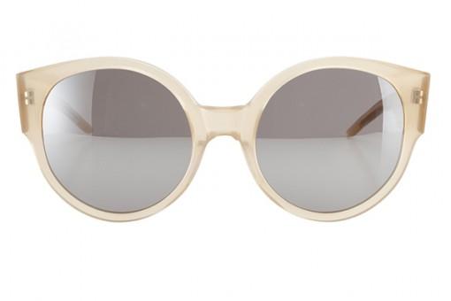 LK x Odeeh, Designersonnenbrille, nude