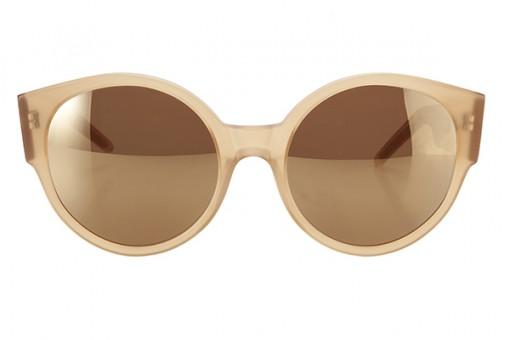 LK x Odeeh, Designersonnenbrille, smoky honey