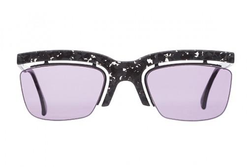 MIKLI Magic Shield Vintage Sunglasses