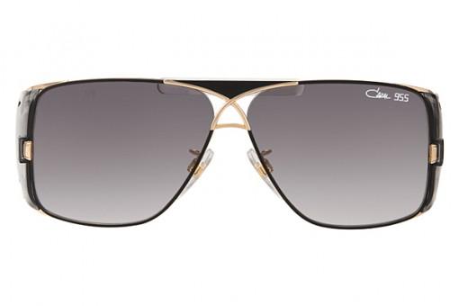 Cazal Mod. 955, Aviator Sonnenbrille, schwarz