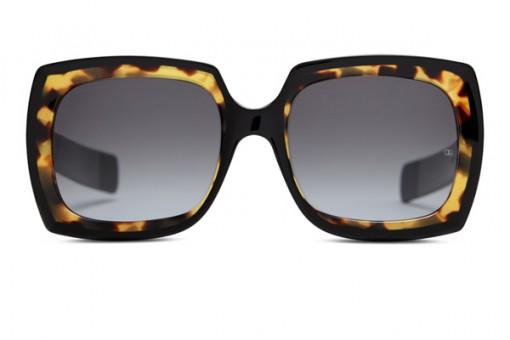 Fuzz 1966 Sonnenbrille, schwarz leopard