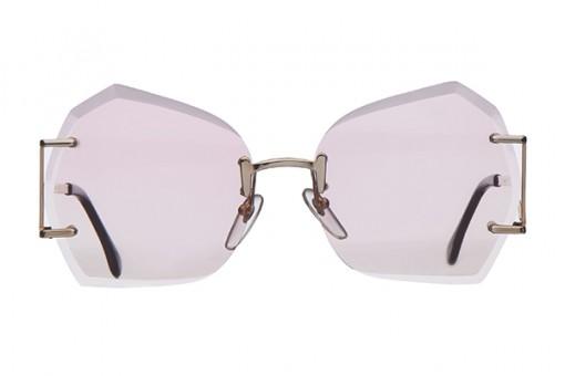 Pretty in Pink! Sonnenbrille randlos