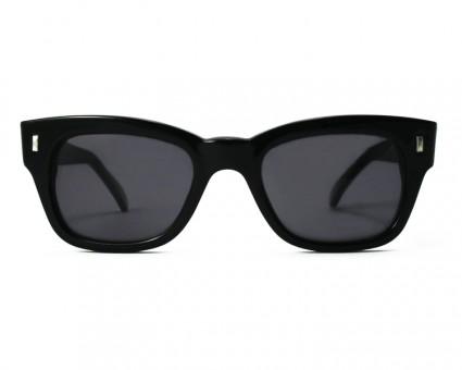 Professor, 60er Jahre Sonnenbrille, schwarz