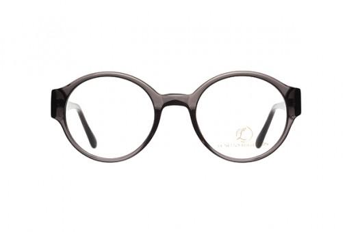 Oval/22, Brille runde Gläser, dunkelgrau