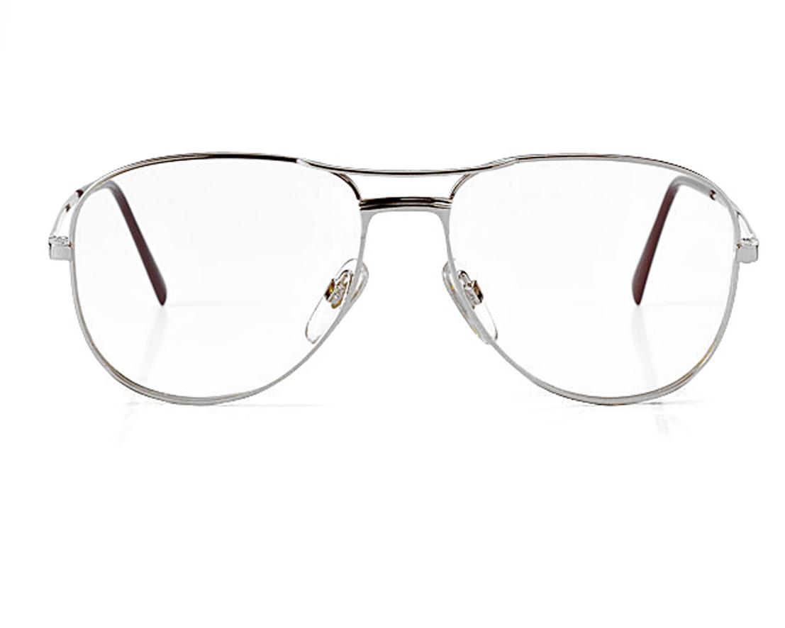 Spielraum groß auswahl Genieße den reduzierten Preis Doppelsteg Metall Brille