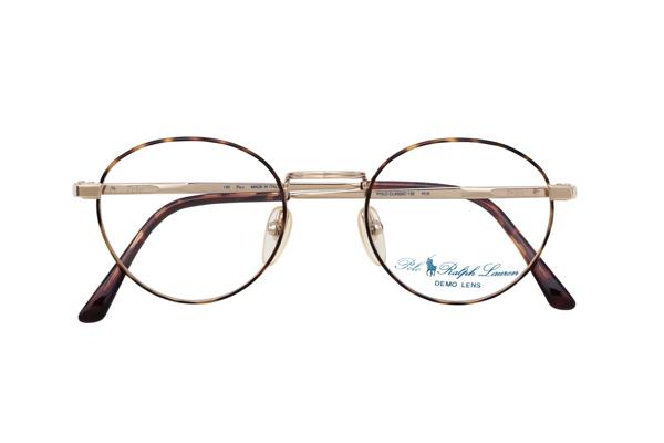 unverwechselbares Design Designermode 100% Spitzenqualität Ralph Lauren Vintage Brille Gold tortoise