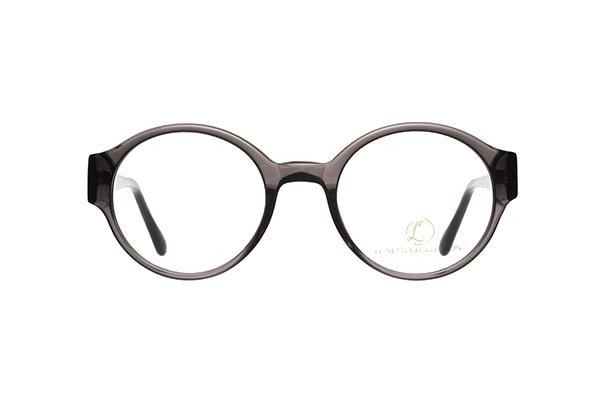 oval 22 brille runde gl ser dunkelgrau. Black Bedroom Furniture Sets. Home Design Ideas