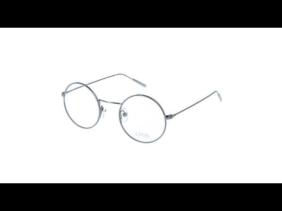riesige Auswahl an ein paar Tage entfernt weltweite Auswahl an Brille runde Gläser Baio silver